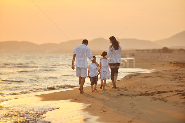 the happiness that young children bring in the family