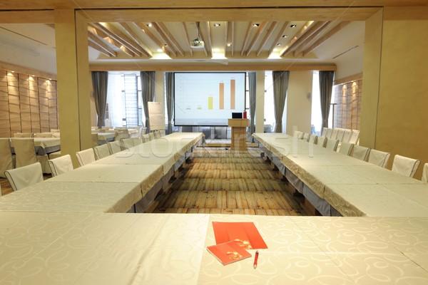空っぽ ビジネス 会議室 インテリア 会議 作業 ストックフォト © dotshock