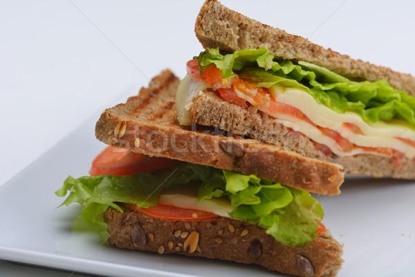 Sandwich fresche verdura carne pesce Foto d'archivio © dotshock