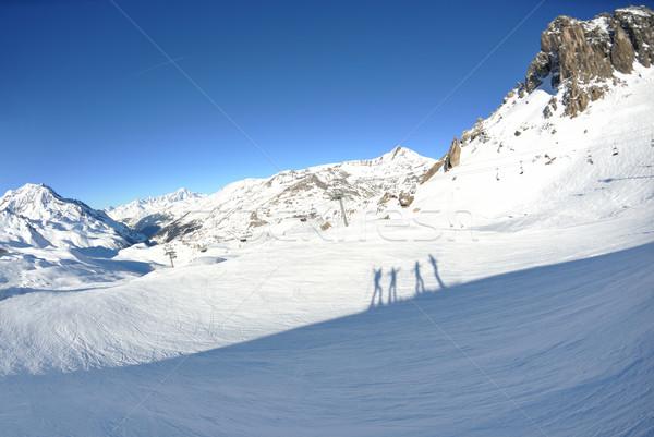 высокий гор снега зима свежие зимний сезон Сток-фото © dotshock