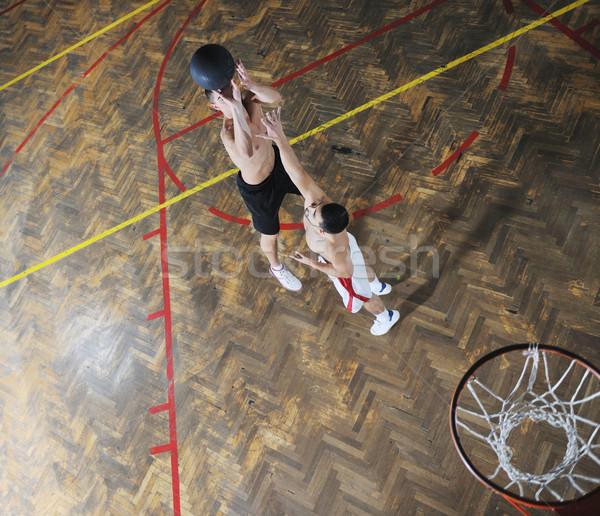 Magia baloncesto jóvenes saludable personas hombre Foto stock © dotshock