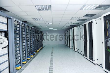 сеть сервер комнату интернет компьютеры цифровой Сток-фото © dotshock