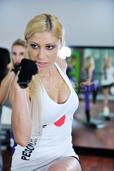 fitness woman Stock photo © dotshock