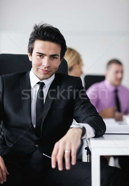 young business man at meeting Stock photo © dotshock