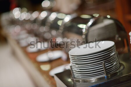 Buffet voedsel catering luxe restaurant Stockfoto © dotshock