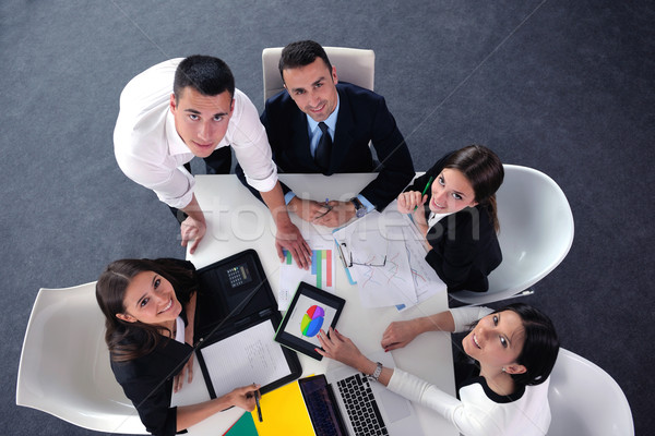 business people group in a meeting at office Stock photo © dotshock