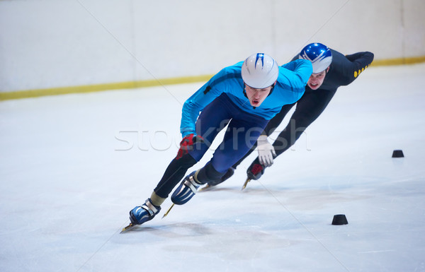 speed skating Stock photo © dotshock