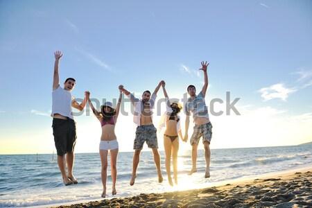 beach party Stock photo © dotshock