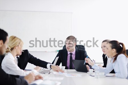 business people group on meeting Stock photo © dotshock