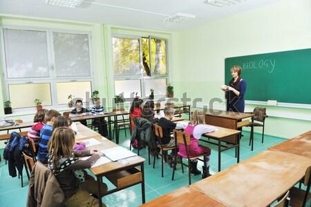learn biology in school Stock photo © dotshock