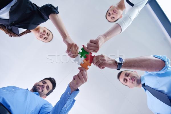 Stockfoto: Groep · zakenlieden · team · ondersteuning · helpen