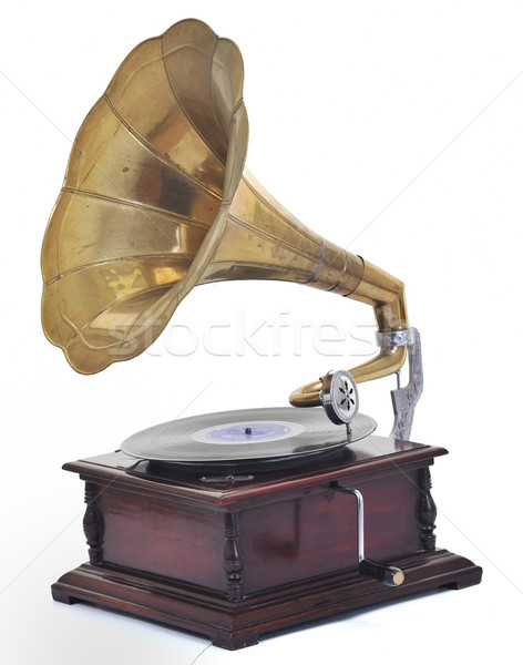 old gramophone Stock photo © dotshock