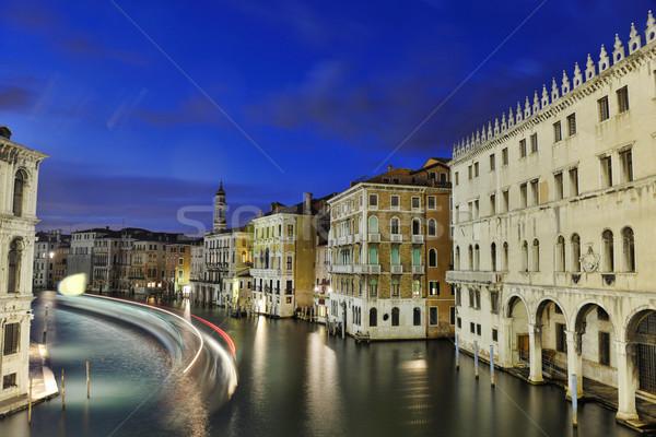 Venetië Italië mooie romantische Italiaans stad Stockfoto © dotshock