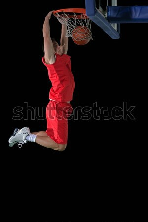 Action basket jeu sport joueur Photo stock © dotshock