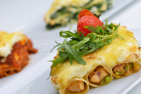 lasagne Stock photo © dotshock