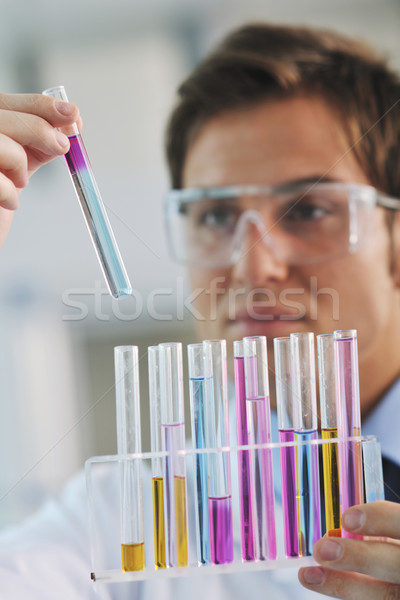research and  science people  in labaratory Stock photo © dotshock