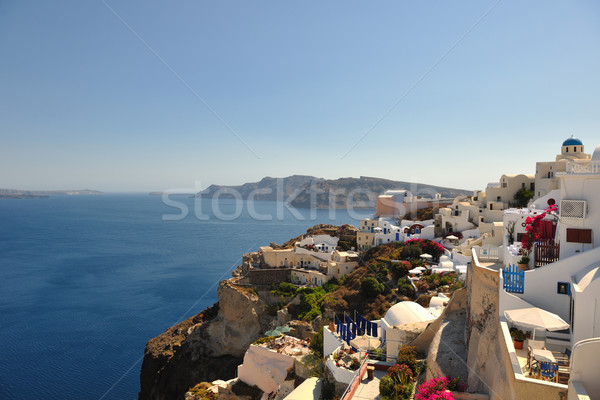 ギリシャ サントリーニ 夏休み 美しい 島 家 ストックフォト © dotshock