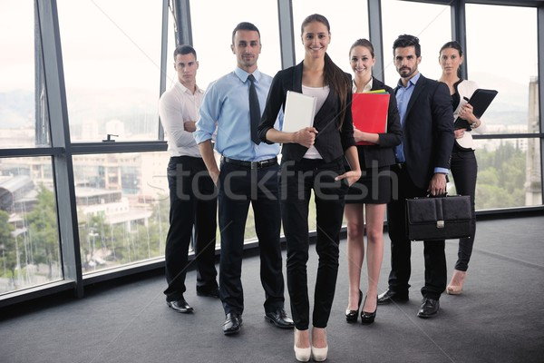 business people in a meeting at office Stock photo © dotshock