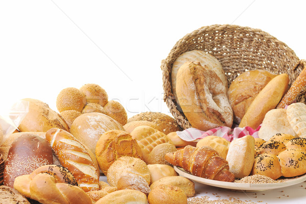 fresh bread food group Stock photo © dotshock
