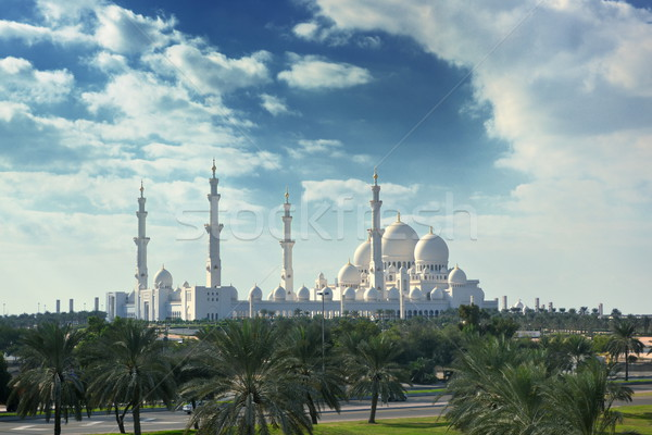 sheikh zayed mosque Stock photo © dotshock