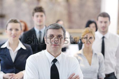 Pessoas de negócios grupo seminário educação treinamento evento Foto stock © dotshock