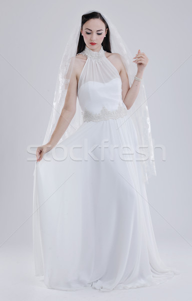 beautiful bride Stock photo © dotshock