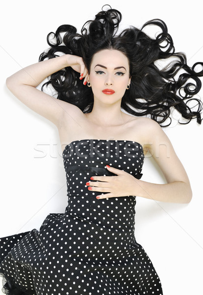 pinup fashion Stock photo © dotshock