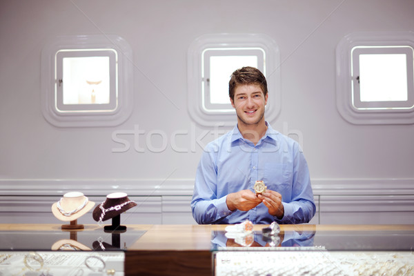jewelry store business Stock photo © dotshock