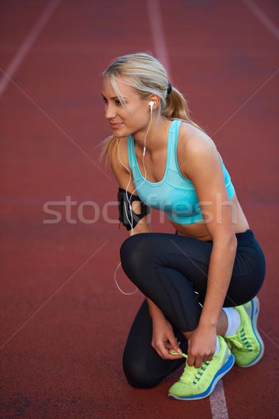 Zdjęcia stock: Kobieta · młodych · runner