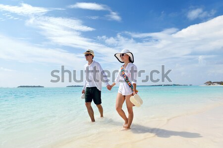 happy family on vacation Stock photo © dotshock