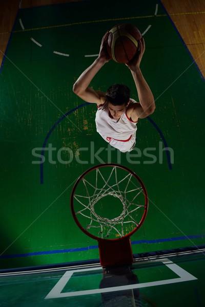 действий баскетбол игры спорт игрок Сток-фото © dotshock