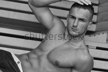 macho man Stock photo © dotshock