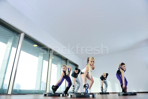 fitness group Stock photo © dotshock