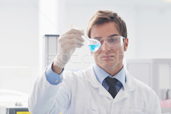 research and  science people  in laboratory Stock photo © dotshock