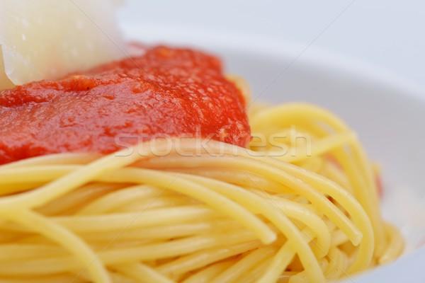 Italian spaghetti Stock photo © dotshock
