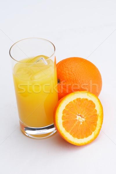 Sinaasappelsap vers gezonde organisch drinken geïsoleerd Stockfoto © dotshock