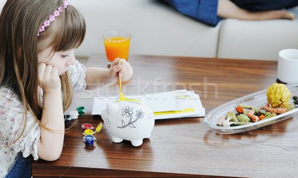 family finance Stock photo © dotshock