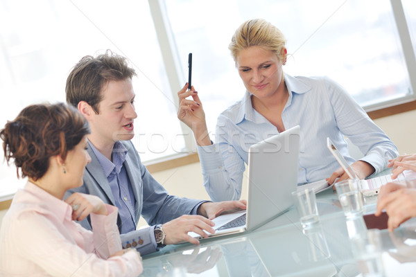 business people at meeting Stock photo © dotshock