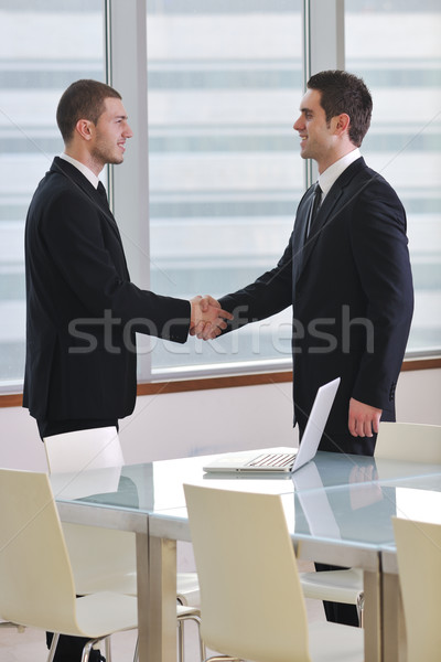 handshake on business meeting Stock photo © dotshock