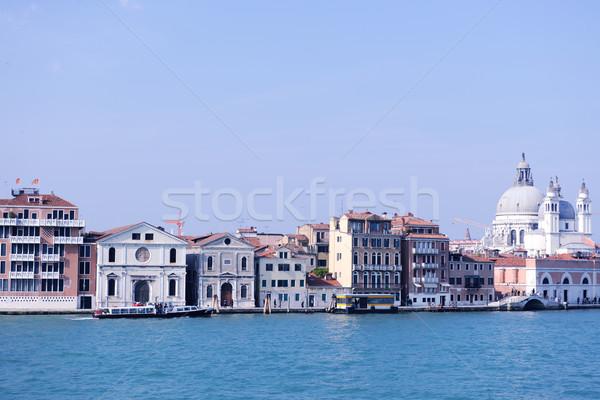 Velence Olaszország gyönyörű romantikus olasz város Stock fotó © dotshock
