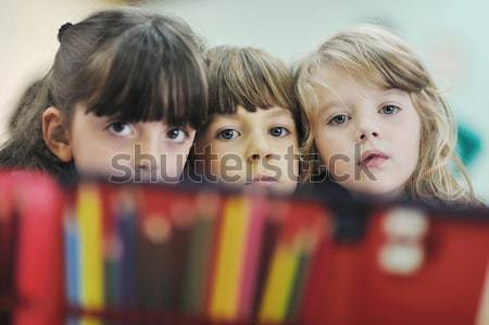 preschool  kids Stock photo © dotshock