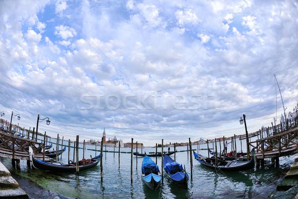 ストックフォト: ヴェネツィア · イタリア · 美しい · ロマンチックな · イタリア語 · 市