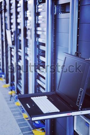 Zdjęcia stock: Sieci · serwera · pokój · komputerów · cyfrowe · telewizja