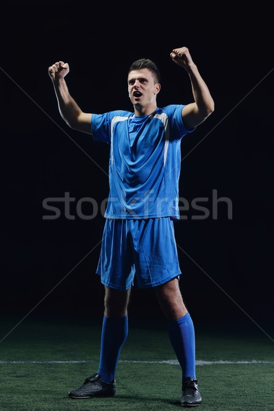 Stock photo: soccer player