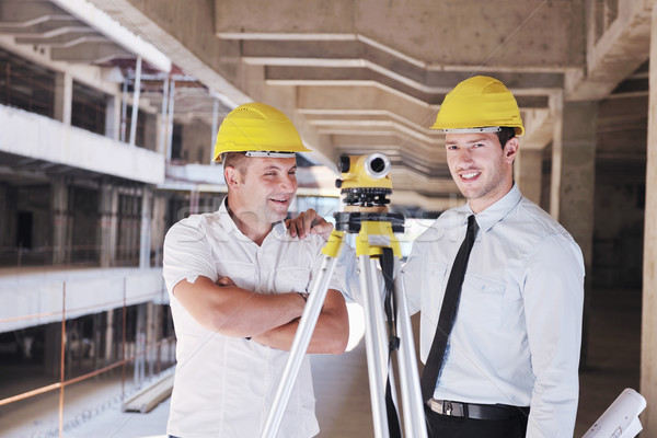 Zdjęcia stock: Zespołu · ludzi · biznesu · grupy · architekta · sprawdzić