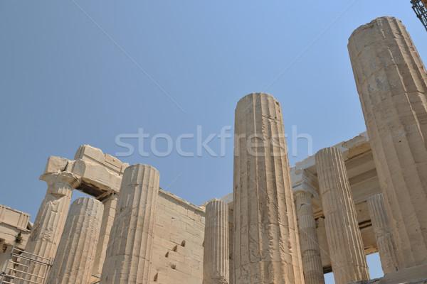 Grecia Atenas Partenón famoso europeo turísticos Foto stock © dotshock