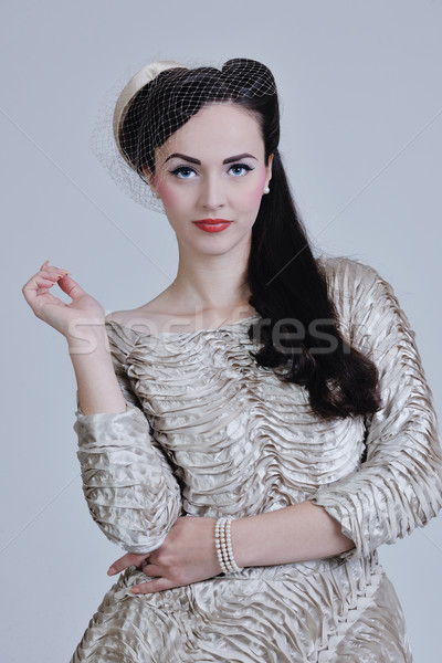 beautiful bride Stock photo © dotshock