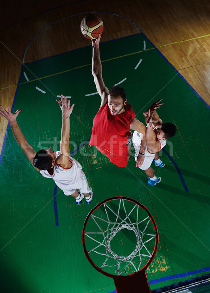 basketball player in action Stock photo © dotshock