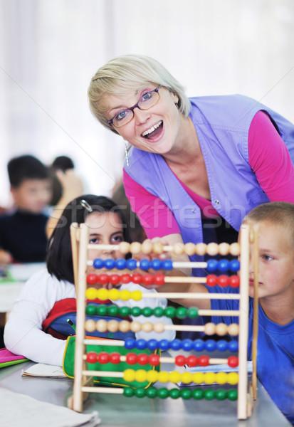 preschool  kids Stock photo © dotshock