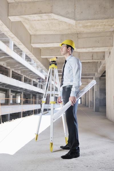 Architecte homme d'affaires ingénieur gestionnaire projet Photo stock © dotshock